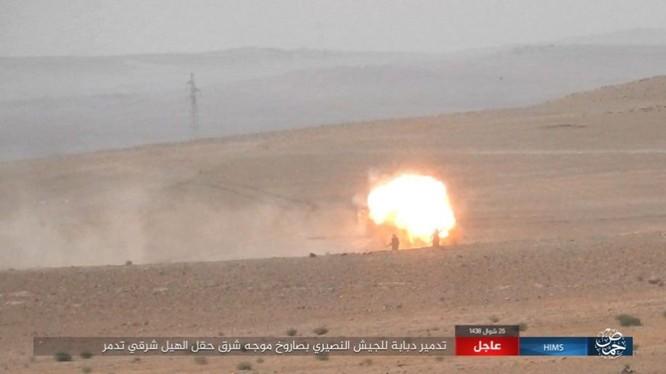 Quân đội Syria tung 3 mũi tiến công nhằm quét sạch IS tại Homs ảnh 3
