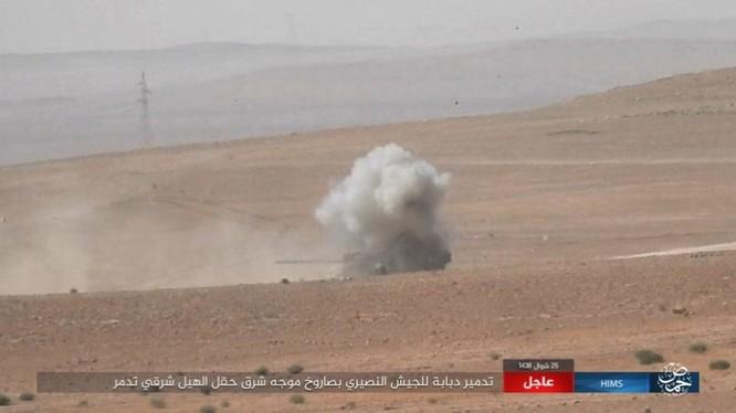 Quân đội Syria tung 3 mũi tiến công nhằm quét sạch IS tại Homs ảnh 4