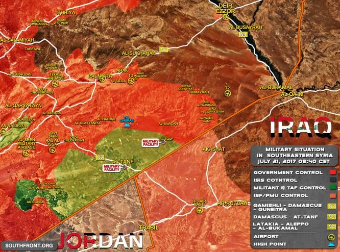 """Quân """"Hổ Syria"""" tấn công đánh về chảo lửa Deir Ezzor ảnh 1"""