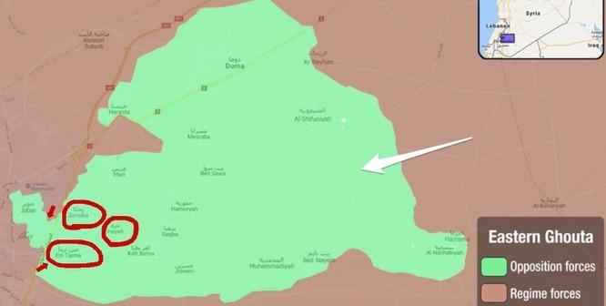 Syria thắng lớn, đạt thỏa thuận ngừng bắn tại chảo lửa Đông Ghouta ảnh 1