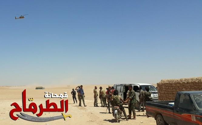 """""""Hổ Syria"""" chọc thủng chiến tuyến IS, áp sát Deir Ezzor chỉ 40 km ảnh 2"""