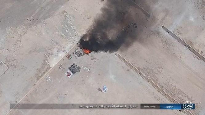 Bại trận liên tiếp, IS điên cuồng chống cự quân đội Syria ảnh 11