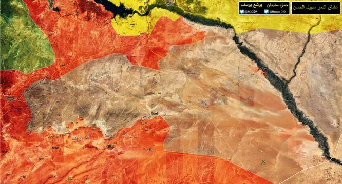 """""""Hổ Syria"""" đột ngột chuyển quân về giải quyết chiến trường Hama ảnh 1"""