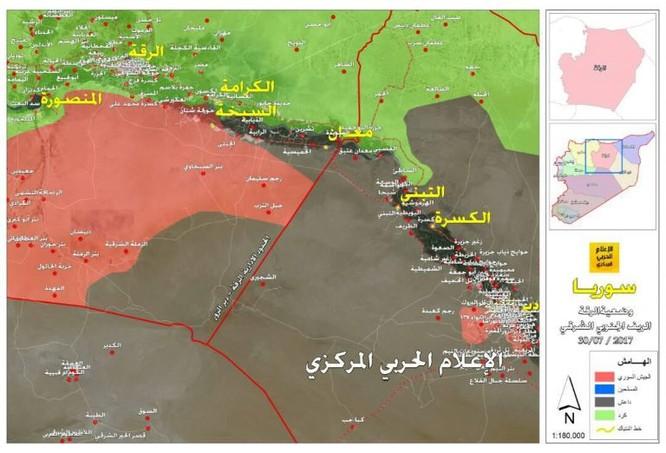 Quân đội Syria dồn IS về Deir Ezzor, phiến quân chuẩn bị tử chiến ảnh 1