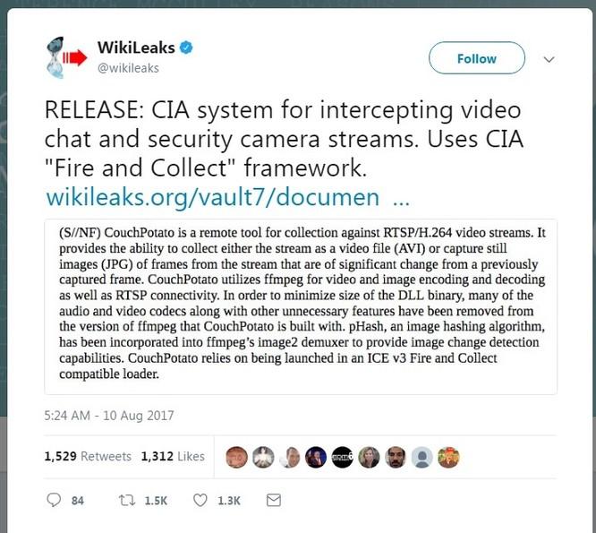 Coi chừng, CIA có thể bí mật điều khiển máy tính, camera của bạn ảnh 1