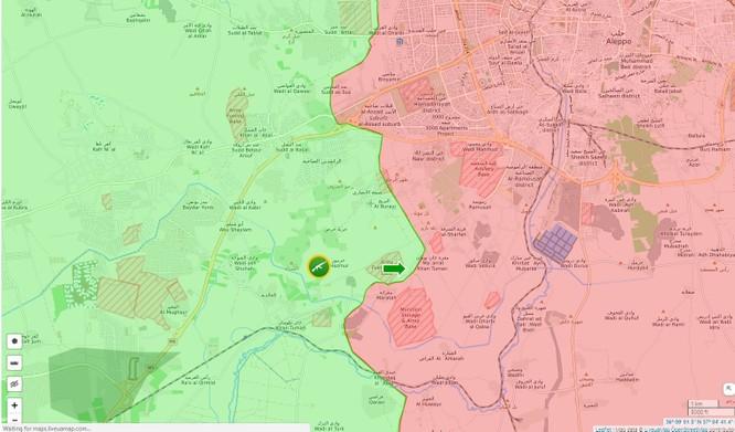 Chiến sự Syria: Quân Assad đánh bại phiến quân tấn công Aleppo ảnh 1