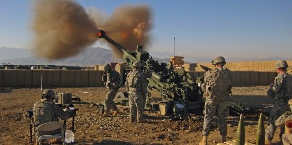 Mỹ mạ crôm cho lựu pháo M777A2 ảnh 1