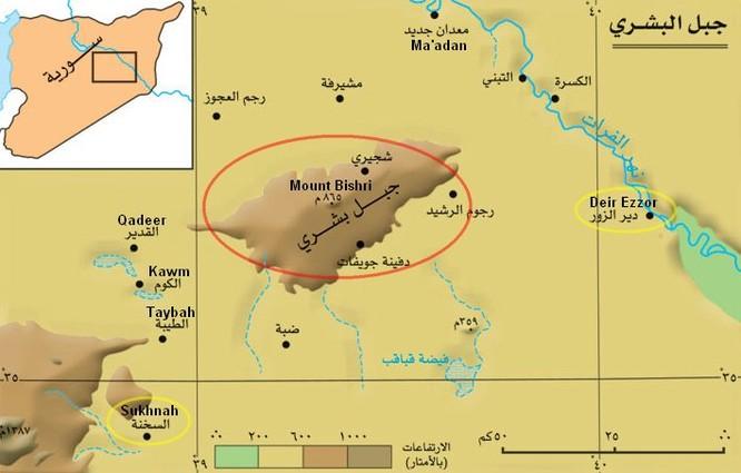 Quân đội Syria đánh bật IS, đoạt dãy núi chiến lược ở Deir Ezzor ảnh 2