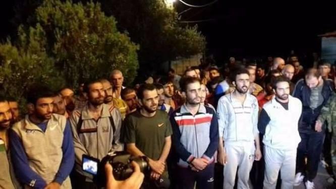 Phiến quân Syria trao trả phi công bị bắn rơi và 30 lính chính phủ ảnh 1
