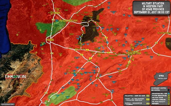 """Nga dội lửa, đặc nhiệm """"Săn IS"""" chiếm thị trấn phiến quân ở Hama (video) ảnh 3"""