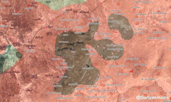 Quân đội Syria sắp tung đòn hạ thị trấn IS ảnh 2