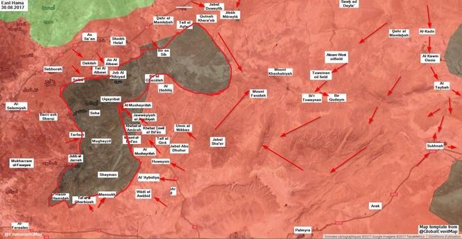 Quân đội Syria sắp tung đòn hạ thị trấn IS ảnh 3