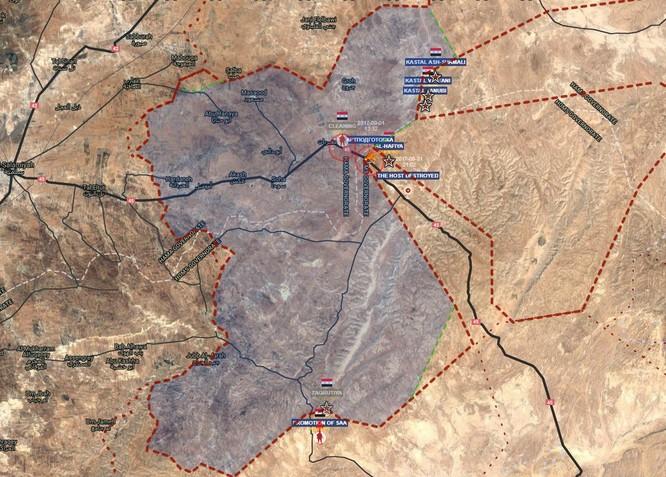 Quân đội Syria sắp tung đòn hạ thị trấn IS ảnh 4