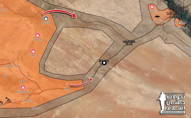 Quân đội Syria đánh tiêu diệt IS, áp sát sào huyệt Deir Ezzor ảnh 1