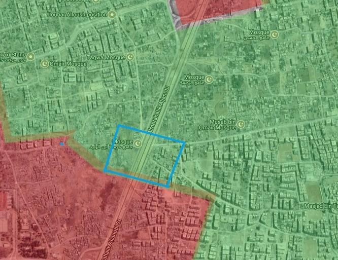 Quân đội Syria lại giáng đòn phe thánh chiến cố thủ ven Damascus (video) ảnh 2