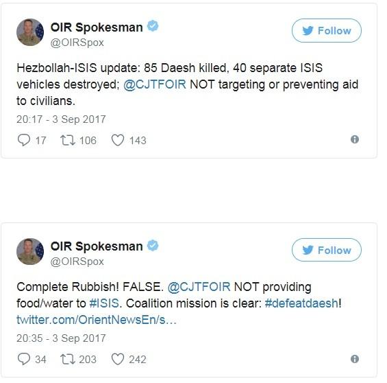 Mỹ giam đoàn xe di tản IS giữa sa mạc, tuyên bố diệt 85 phiến quân ảnh 1