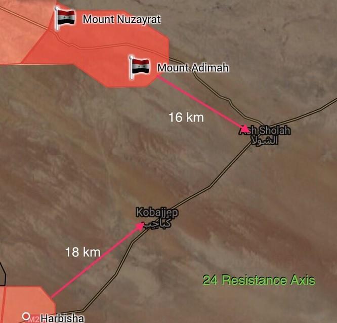 """""""Hổ Syria"""" tiến công mãnh liệt, chỉ còn cách Deir Ezzor 18 km (video) ảnh 1"""