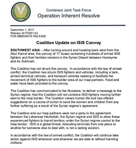 Mỹ giam đoàn xe di tản IS giữa sa mạc, tuyên bố diệt 85 phiến quân ảnh 2