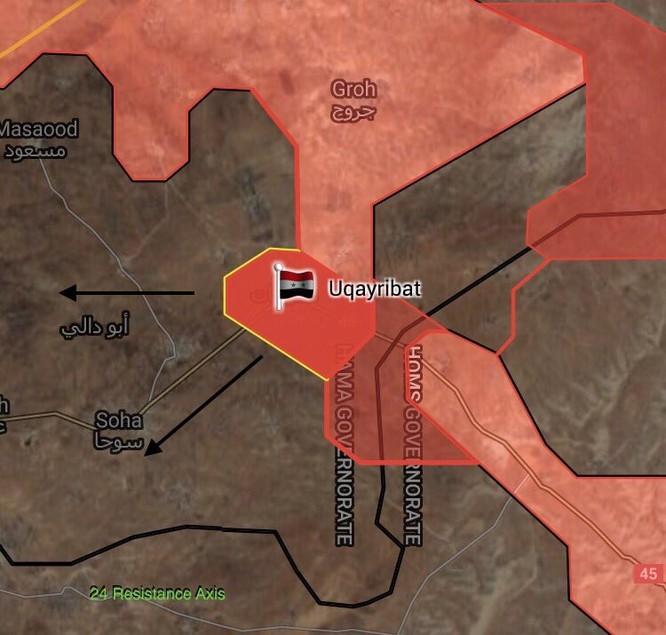 """Đặc nhiệm """"Săn IS"""" Syria đè bẹp IS chiếm thị trấn phiến quân tại Hama (video) ảnh 1"""