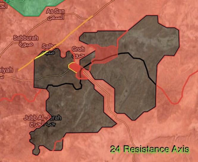 """Đặc nhiệm """"Săn IS"""" Syria đè bẹp IS chiếm thị trấn phiến quân tại Hama (video) ảnh 2"""