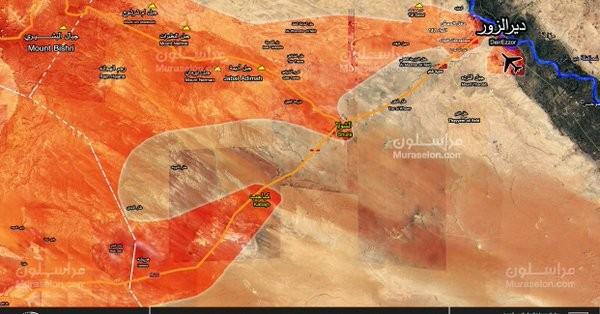 """""""Hổ Syria"""" đột phá thành công vào Deir Ezzor, vòng vây IS sụp đổ ảnh 1"""