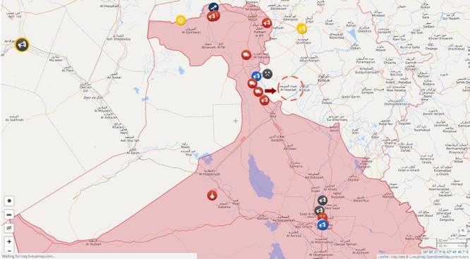 Hàng trăm phiến quân IS bị người Kurd bắt sống (video) ảnh 1