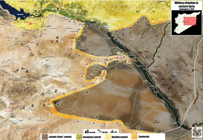 Quân đội Syria truy kích Is dọc tuyến đường Sukhnah-Deir Ezzor (video) ảnh 1