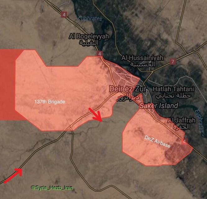 """""""Hổ Syria"""" tấn công phá huỷ vòng vây IS quanh sân bay Deir Ezzor (video) ảnh 1"""