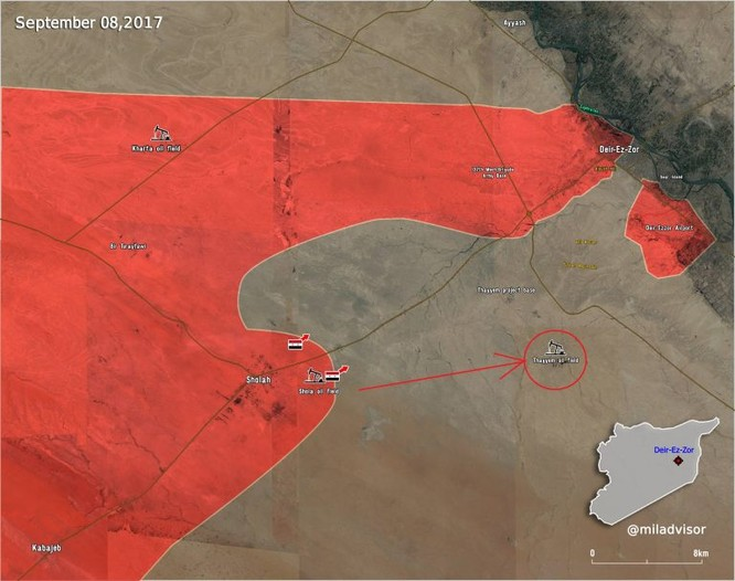 Quân đội Syria tung chiến dịch giải phóng sân bay quân sự Deir Ezzor (video) ảnh 1