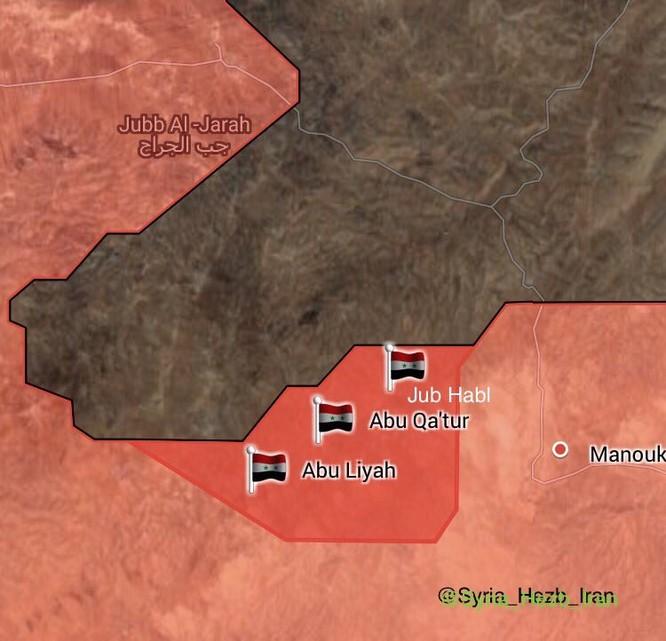 Quân đội Syria đè bẹp địch, đoạt 7 cứ địa IS ở Hama (video) ảnh 1