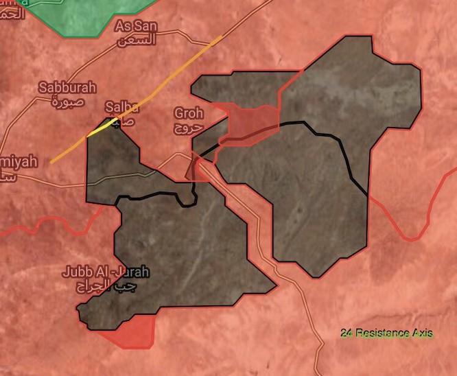 Quân đội Syria đè bẹp địch, đoạt 7 cứ địa IS ở Hama (video) ảnh 2