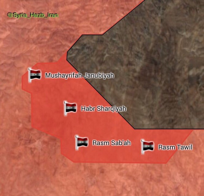 Quân đội Syria đè bẹp địch, đoạt 7 cứ địa IS ở Hama (video) ảnh 3
