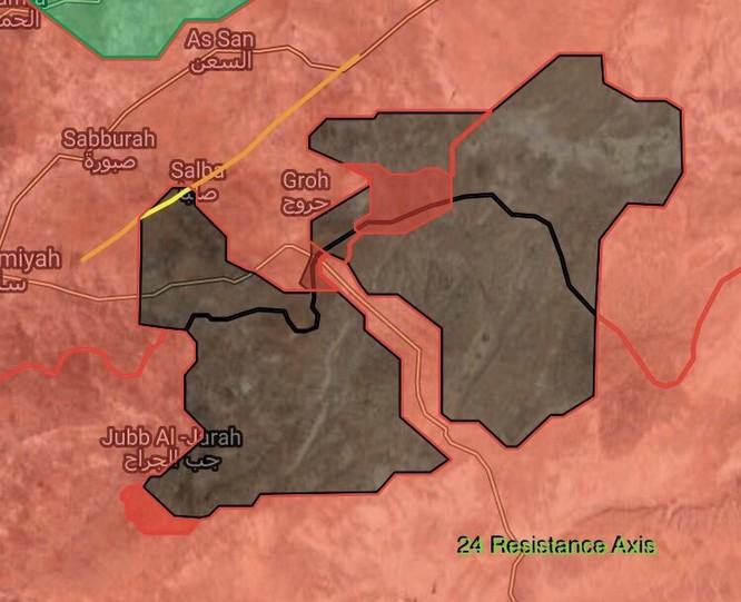 Quân đội Syria đè bẹp địch, đoạt 7 cứ địa IS ở Hama (video) ảnh 4