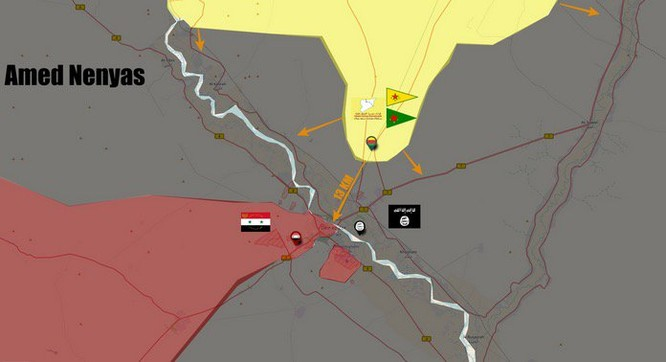 Quân đội Syria đập tan IS phong tỏa Deir Ezzor, SDF thừa cơ tranh lãnh thổ ảnh 1