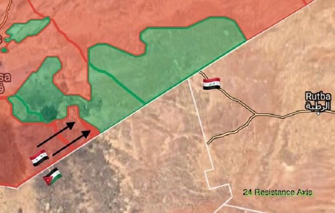 Quân Assad đè bẹp FSA Mỹ hậu thuẫn, chiếm loạt cứ địa dọc biên giới Syria ảnh 1