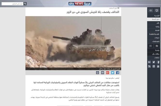 Mỹ ngang nhiên tung đòn đánh quân đội Syria tại Deir Ezzor ảnh 1