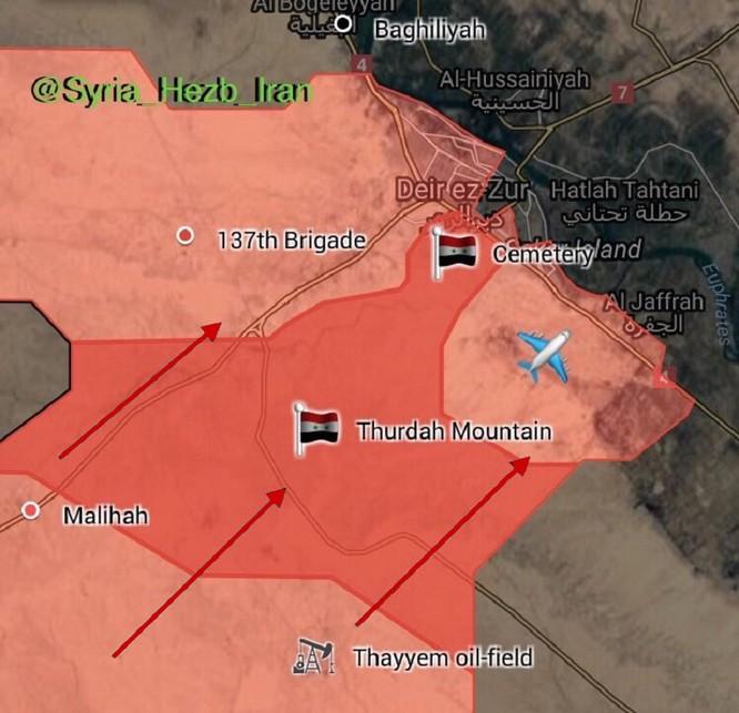 Mỹ ngang nhiên tung đòn đánh quân đội Syria tại Deir Ezzor ảnh 2