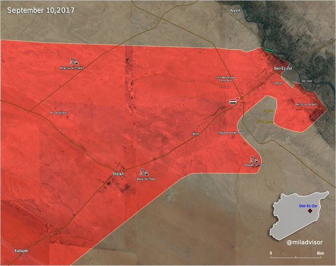 Chiến sự Syria: Quân Assad quét sạch IS, giải phóng cao tốc Sukhna-Deir Ezzor ảnh 1