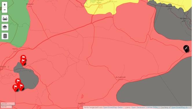 Nga càn quét, quân đội Syria đoạt thêm 2 cứ địa IS ở Hama ảnh 1