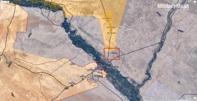 IS điên cuồng chống quân Syria ở Deir Ezzor, nhường đất cho người Kurd ảnh 1