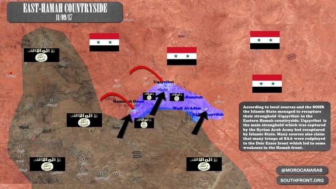 Quân đội Syria lại hứng thất bại trước IS trên chiến trường Hama ảnh 1