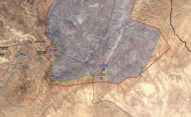 Quân đội Syria xốc tới đánh chiếm 5 thị trấn IS trong vòng vây Homs - Hama ảnh 2