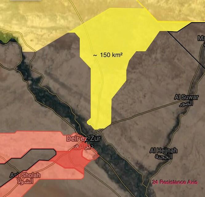 Mỹ yểm trợ người Kurd tiến đánh về Deir Ezzor chiếm đất lập quốc ảnh 1