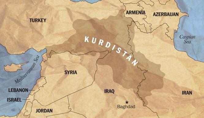 Mỹ yểm trợ người Kurd tiến đánh về Deir Ezzor chiếm đất lập quốc ảnh 5