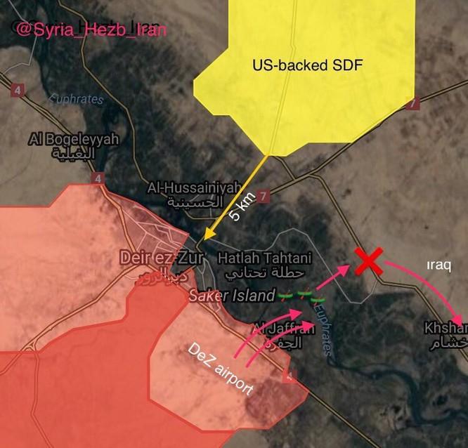 """""""Hổ Syria"""" chuẩn bị vượt sông Euphrates tấn công phiến quân IS ảnh 1"""