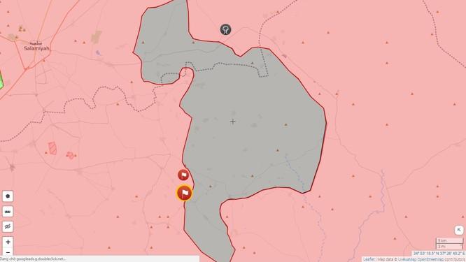 Quân đội Syria xốc tới đánh chiếm 5 thị trấn IS trong vòng vây Homs - Hama ảnh 1