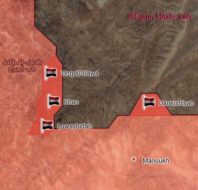 Nga càn quét hỏa lực, quân đội Syria đánh chiếm hàng chục địa bàn IS tại Homs (video) ảnh 2