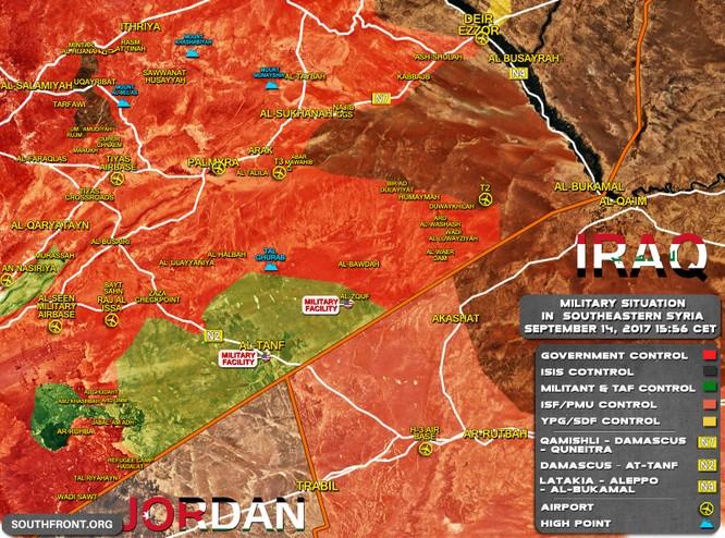 Quân đội Syria, người Kurd đua tấn công IS chiếm lãnh địa tại Deir Ezzor ảnh 3
