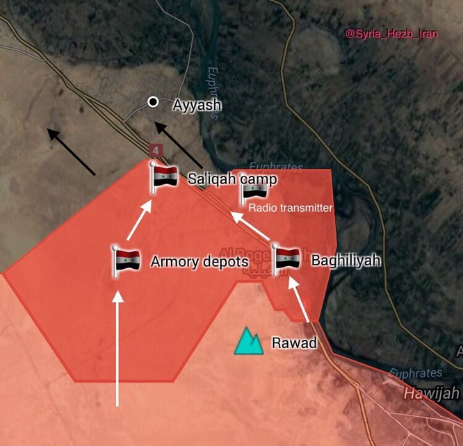 Quân đội Syria, người Kurd đua tấn công IS chiếm lãnh địa tại Deir Ezzor ảnh 1