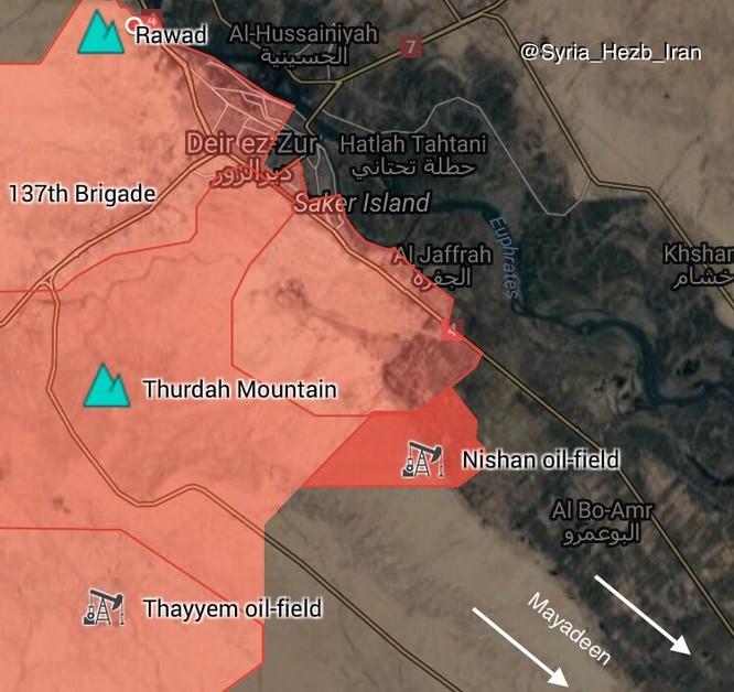 Quân đội Syria, người Kurd đua tấn công IS chiếm lãnh địa tại Deir Ezzor ảnh 2